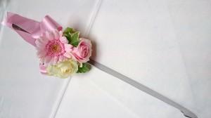 ケーキナイフ花