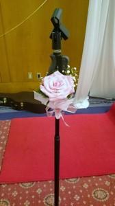 マイク装花
